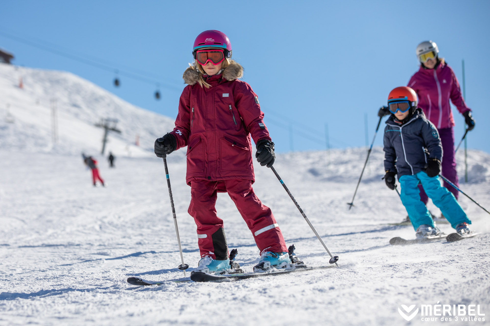enfants meribel baby sitting
